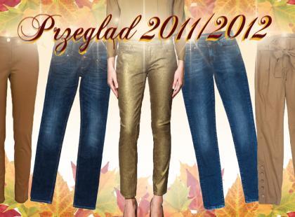 Spodnie damskie jesień-zima 2011/2012
