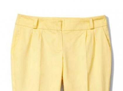Spodnie z kantem - hit wiosny i lata 2012