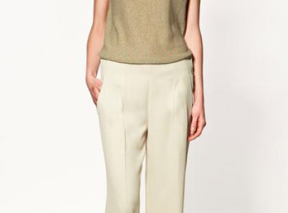Spodnie z szerokimi nogawkami z jesiennych kolekcji