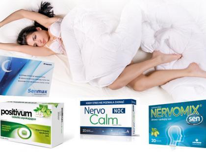 Spokojny sen – suplementy ułatwiające zasypianie