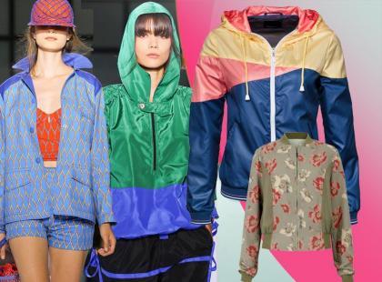 Sportowe kurtki na wiosnę 2012