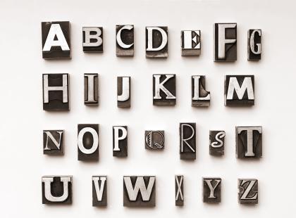 Sposób na alfabet