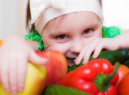 Spraw by Twoje dziecko polubiło warzywa i owoce