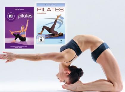 Sprawdź! 10 propozycji treningów jogi i pilatesu na DVD