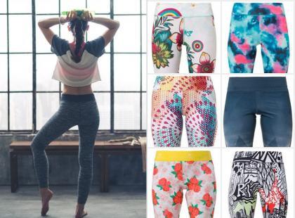 Sprawdź! 15 par kolorowych legginsów na wiosnę 2016