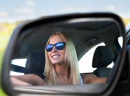 Sprawdźcie jak prawidłowo ustawić lusterka w samochodzie
