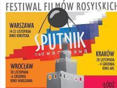 """""""Sputnik nad Warszawą"""" - II Festiwal Kina Rosyjskiego"""