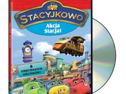 """""""Stacyjkowo cz.2 - Akcja stacja"""" na DVD"""