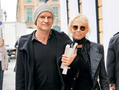 Sting i Trudie Styler - Skok w bok