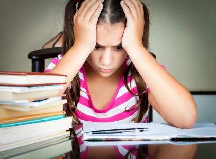 Strach przed powrotem do szkoły
