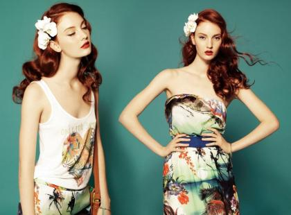 Stradivarius - czerwcowy lookbook 2012