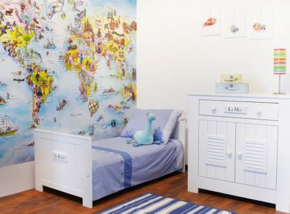 Styl marynarski w dziecięcym pokoju
