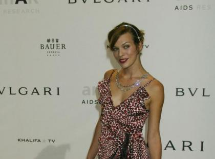 Styl Milli Jovovich