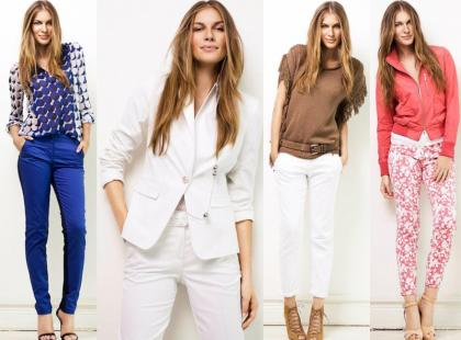 Stylizacje marki Olsen na sezon wiosna-lato 2013