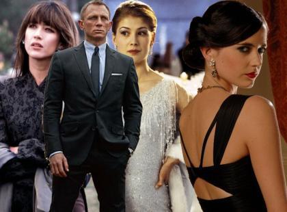 Stylizacje na dziewczynę Bonda