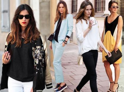 Stylizacje uliczne od marki Zara na lato 2013