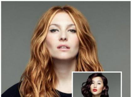 Stylizacje włosów Celebrity Looks na zimę 2015/16 od L'Oréal