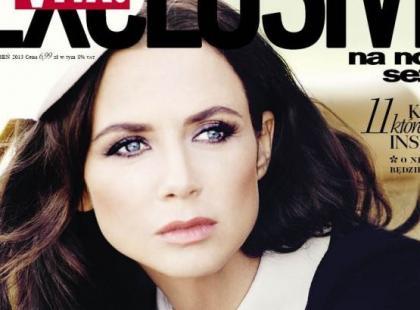 "Stylowa Kinga Rusin na okładce ""Vivy! Exclusive"""