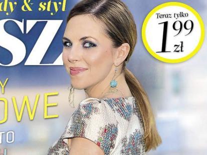 """Stylowa Kwaśniewska na okładce magazynu """"Flesz"""""""