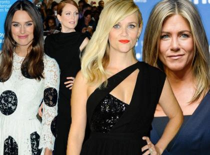 Stylowe Aniston, Knightley, Moore i inne na festiwalu w Toronto