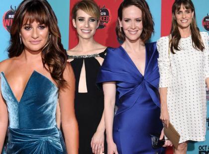 Stylowe gwiazdy na premierze American Horror Story