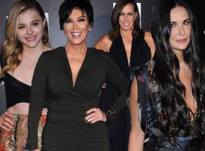Stylowe: Moore, Karan, Moretz i Jenner na imprezie charytatywnej