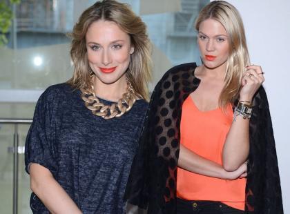Stylowe Ślotała i Klimas na Fashion Week Poland 2014