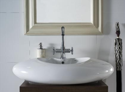 Stylowe umywalki nablatowe od Roca