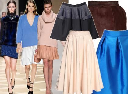 Subiektywny przegląd: 30 najciekawszych spódnic na jesień