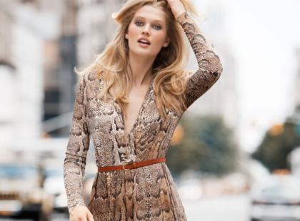 Sukienki H&M na jesień i zimę 2011/2012