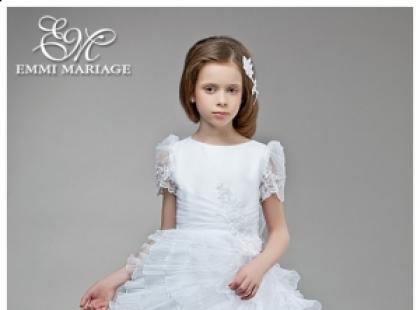 Sukienki komunijne w stylu małej księżniczki