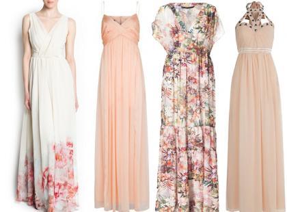 Sukienki maxi na wesele 2013
