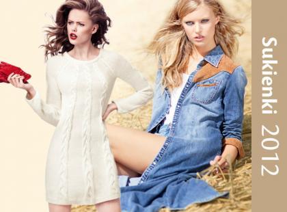 Sukienki na jesień i zimę - najnowsze trendy