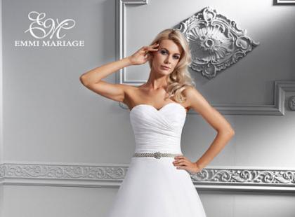 Sukienki ślubne Emmi Mariage - linia Platinium 2014