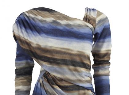 Sukienki w graficzne wzory z wiosennych kolekcji