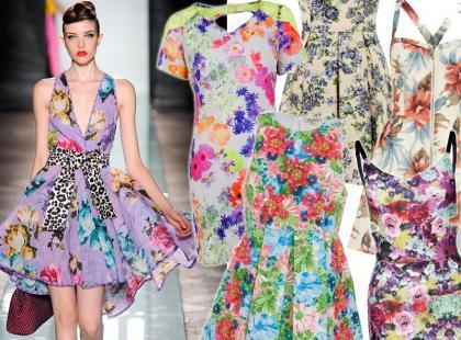 Sukienki w kwiatowe printy z sieciówek. Już od 39 złotych!