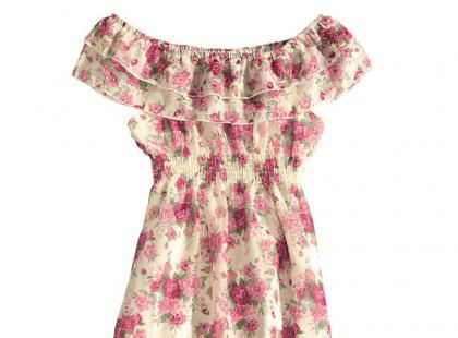 Sukienki w kwiatowe wzory