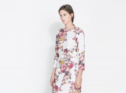 Sukienki Zara na jesień i zimę 2013/14