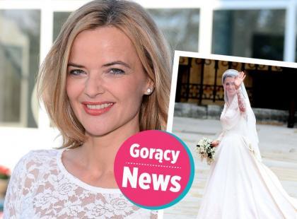 Suknia ślubna Moniki Richardson jak księżnej Kate. Z drobną, ale dość istotną różnicą