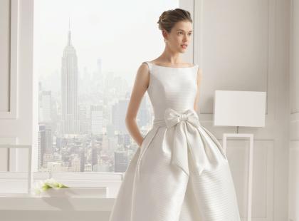 Suknie ślubne 2 w 1 - trendy 2015