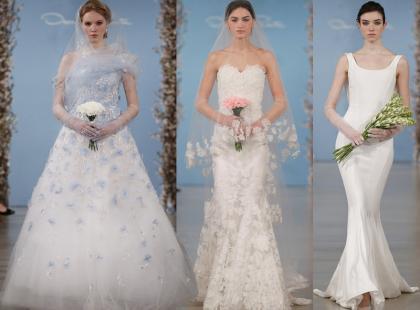 Suknie ślubne 2014: kolekcja Oscara de la Renty