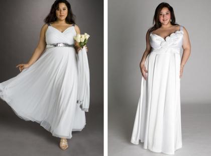 """Suknie ślubne dla panien młodych """"plus size"""""""