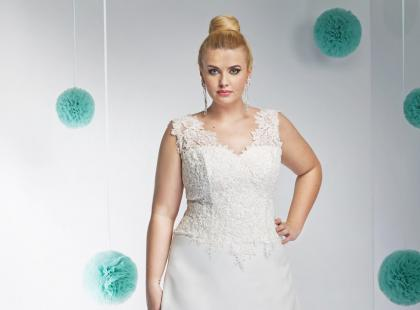 Suknie ślubne dla puszystych - zobacz, jak się ubrać, by wyglądać bosko!