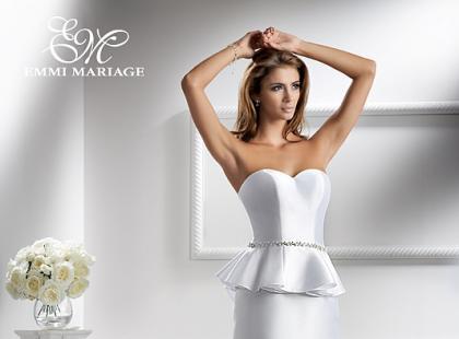 Suknie ślubne Emmi Mariage - linia Diamond 2013