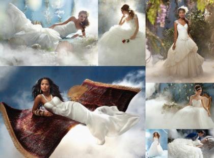 Suknie ślubne inspirowane bajkami Disney'a