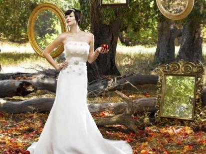 Suknie ślubne inspirowane bajkami Disneya