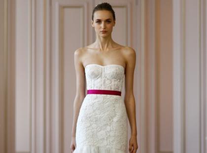Suknie ślubne - Oscar de la Renta 2016