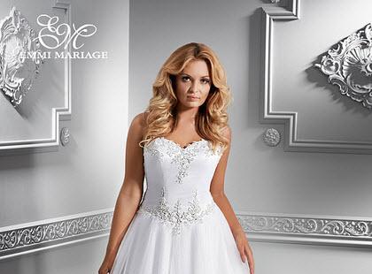 Suknie ślubne XL od Emmi Mariage - kolekcja 2014