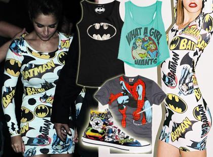 Superbohaterowie są wciąż trendy