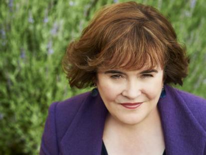 Susan Boyle: Mam dużo szczęścia